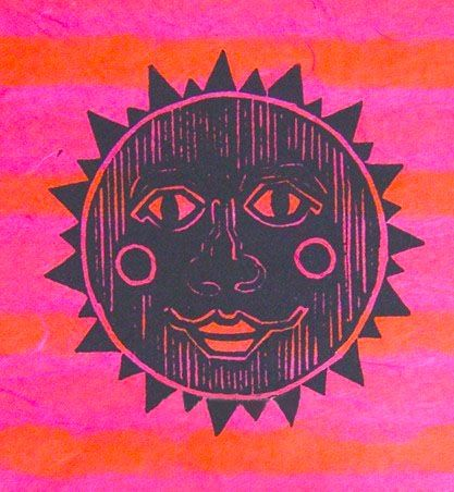 ☯☮ॐ American Hippie Psychedelic Art ~ Sun