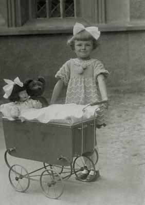 Children Doll Prams Teddy Bear Photo