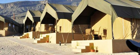 Sinbad's Oman Pocket Guide: The View 'Eco Luxe' Luxury Tents