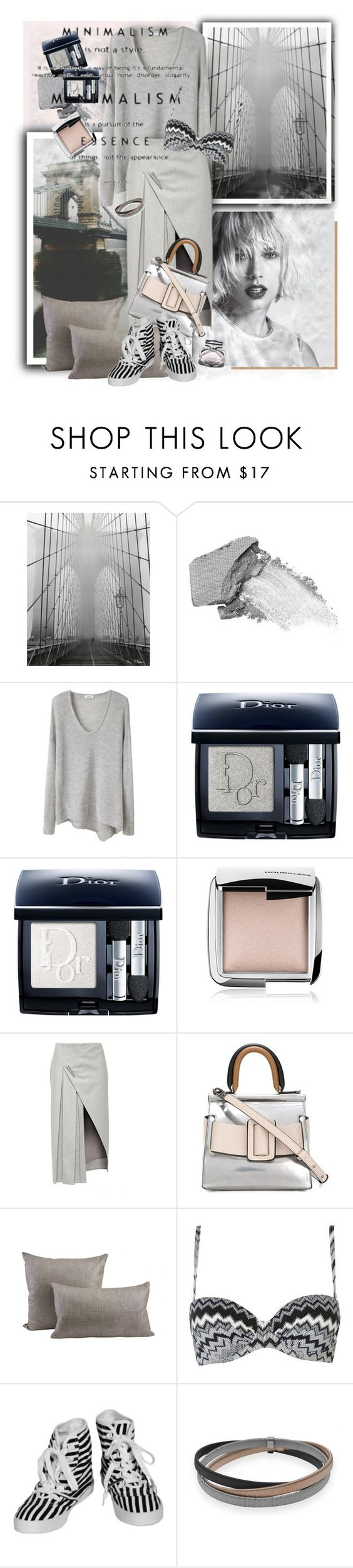 """MOOD: Fog"" by ksenia-lo ❤ liked on Polyvore featuring Urban Decay, Helmut Lang, Christian Dior, Hourglass Cosmetics, Prabal Gurung, Boyy, Jayson Home, John Lewis, Minimarket and BillyTheTree"