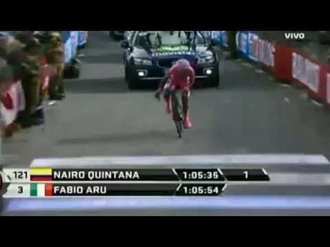 Nairo Quintana Gana en el Giro de Italia - (Etapa 19) 30/05/2014