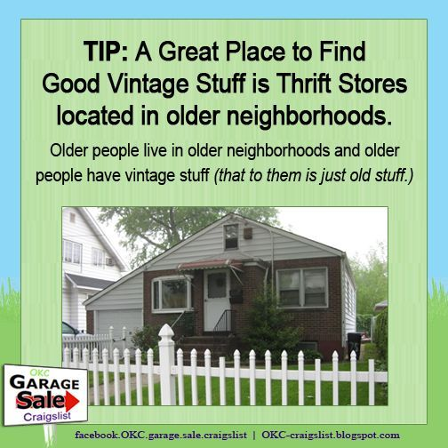 Tip Where To Find Really Cool Vintage Stuff Vintage Great Places The Neighbourhood