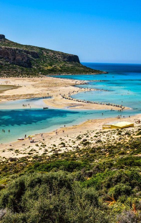 Balos Beach, Crete Island, Greece