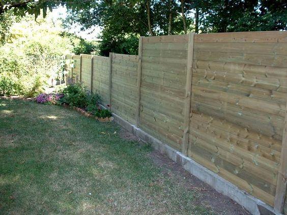 Panneaux et palissades : déco jardin, occultation, clôture ...