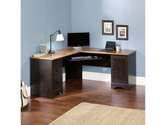 corner computer desks for your home office furniture amusing lshaped oak wood top corner computer amusing home computer
