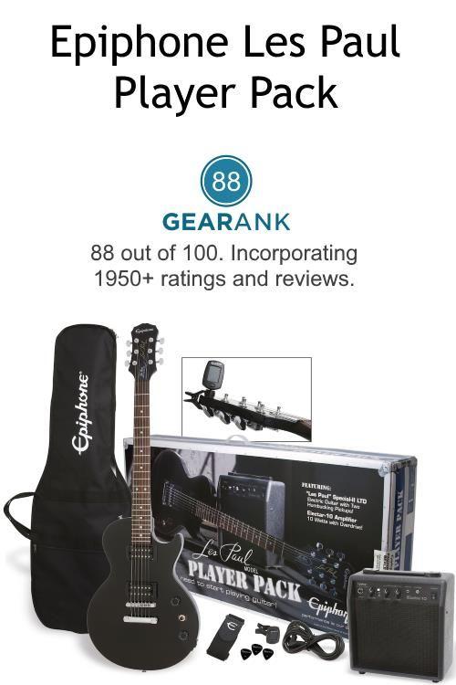 Epiphone Les Paul Player Pack Online Guitar Lessons Guitar For Beginners Epiphone Les Paul