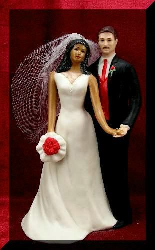 interracial wedding cake toppers couples wedding and wedding topper on 5164