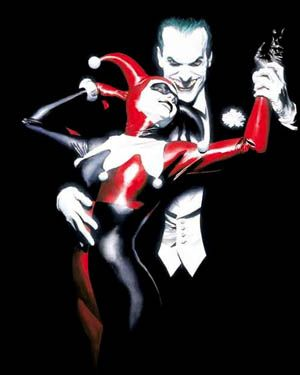 In middle school, when the boys would play Batman and Robin, I would always be Harley- a bad girl!