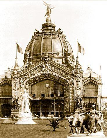 Domo central de la exposición Universal de París de 1900