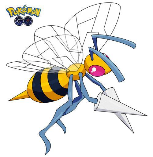 Beedrill 1 de Pokémon Go