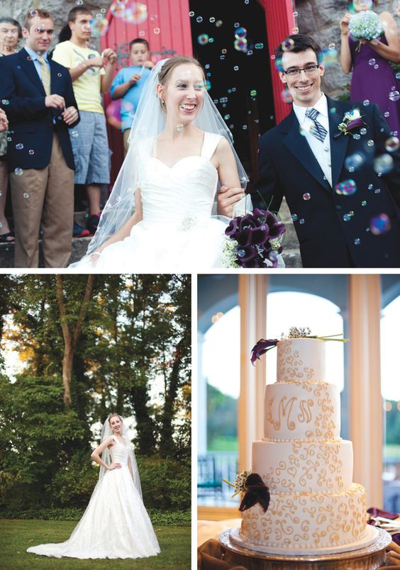 Purple Tri-Cities Wedding | Nicholas + Susan - The Pink Bride