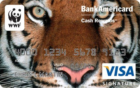 Bank of America WWF Card