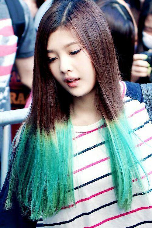 Red Velvet - Joy green hair #redvelvet #joy #greenhair | Gelin