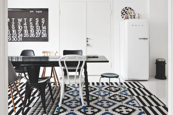 Ideen für Zuhause: Inspiration für die Einrichtung in Schwarz-Weiß