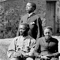 007 Freed slaves homesteading in the West during the time