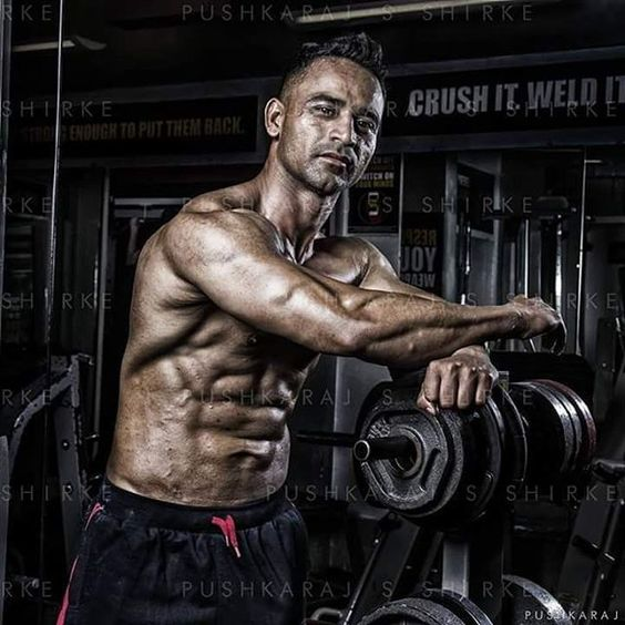 Fitness Professional Profile Portrait Athlete Raashid Shaikh - professional profile