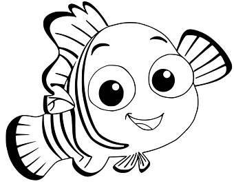 Newborn Clownfish Bonnet Fish Bonnet Newborn Bonnet Clown Fish Under The Sea Nursery Nemo Coloring Pages Finding Nemo Coloring Pages Disney Coloring Pages