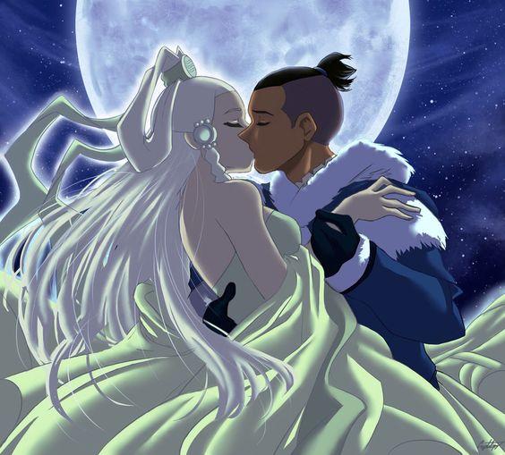 Sokka e Espírito da Lua