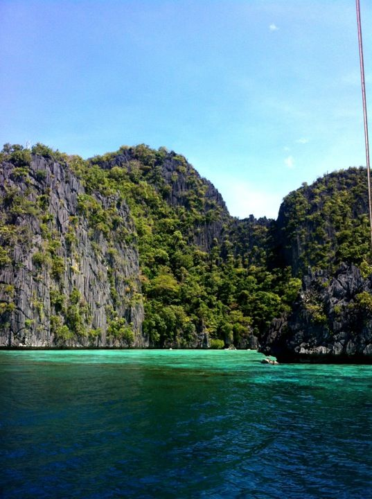 Coron Lagoon, looks amazing. The Phillipines
