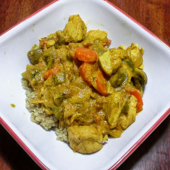 The  Trim Lunch  Box: Chicken vegetable curry *THM E*