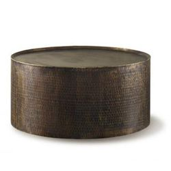 Rioja Coffee Table 1750 Modern Hammered Drum Style Side And Coffee Tables That Are Versatile