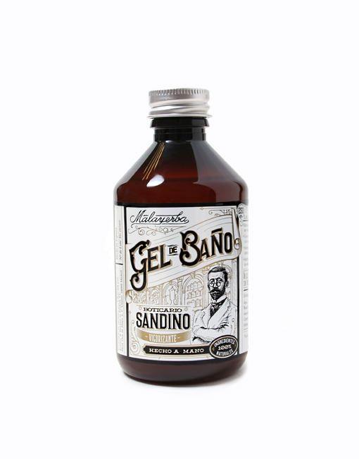 Gel de baño Boticario Sandino 250ml