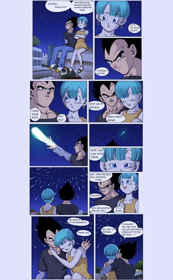 Vegeta and Bulma #Love #DBZ: