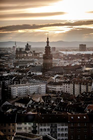 Traumwohnung über den Wolken Mannheims - Wohnung in Mannheim-Innenstadt