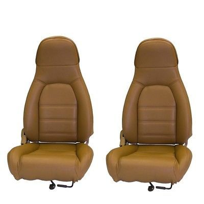 Fits 1990 1996 Mazda Miata Pair Of Front Seat Covers For Standard Seats Tan Ebay Miata Seat Covers Mazda Miata