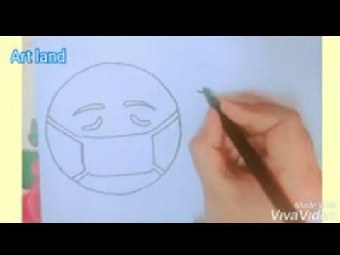 رسم ايموجي مريض للمبتدئين والأطفال خطوه بخطوه رسم كورونا How To Draw Sick Emoji Go Corona Drawing Youtube In 2020 Sick Emoji Easy Drawings Peace Gesture