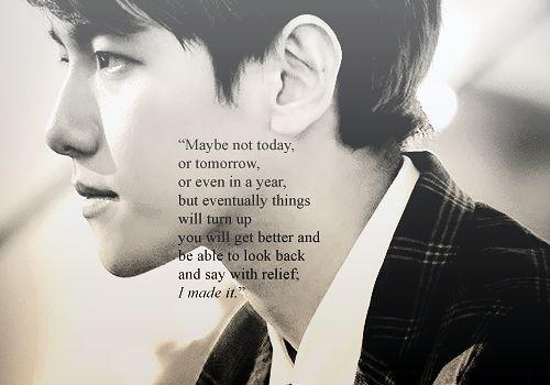 exo baekhyun quotes baekhyun pinterest quotes