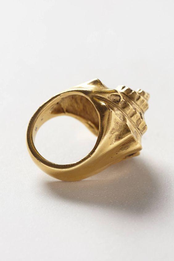 Concha Marina Ring