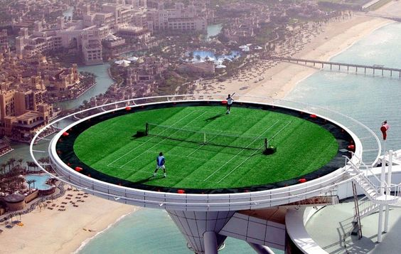 14 Crazy Things You Didn't Know About Dubai – 3. Tennis Anyone?