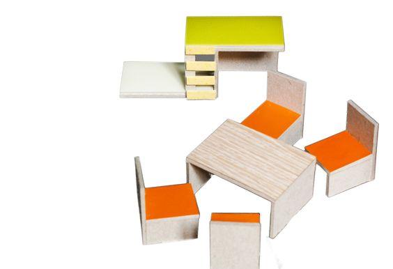 cardboard furniture Parramon + Tahull arquitectes