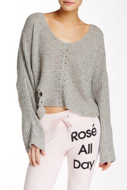 Terra Crop Sweater