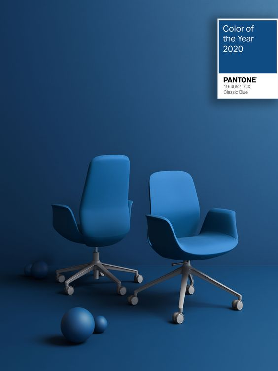 Color of the year 2020 is Classic Blue! The color is soothing and facilitates concentration - so it gives us exactly what we all need so much. Classic Blue version of our ElliePro looks really elegant, doesn't it?   #profim #elliepro #itodesign #chair #pantone2020 #classicblue #coloroftheyear #modernfurniture #furnituredesign #beautiful #elegant #soothing  #interiordesign #officesolutions #ergonomic #style #inspiration #art #painting #creative #colourful #decor #colours