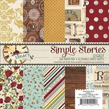 Simple Stories Legacy 6x6 Paper Pad