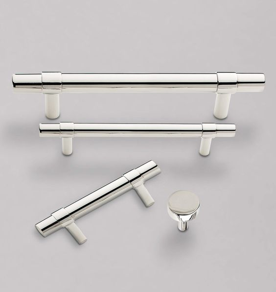 Sommerville Drawer Pull 3in. - Polished Nickel
