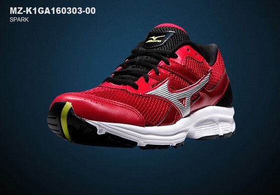 Mizuno Mens Spark Athlectic Running Shoes Sneakers MZ-K1GA160303-00 #Mizuno #AthleticSneakers