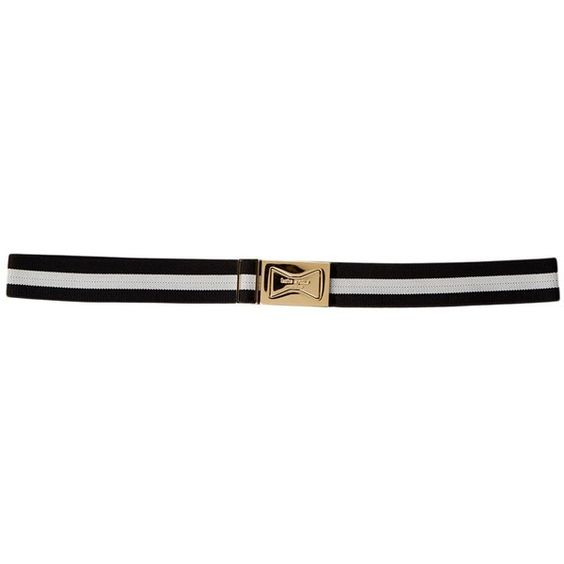kate spade new york Interlocking Bow Belt ($35) ❤ liked on Polyvore featuring accessories, belts, kate spade belt, adjustable belt and kate spade