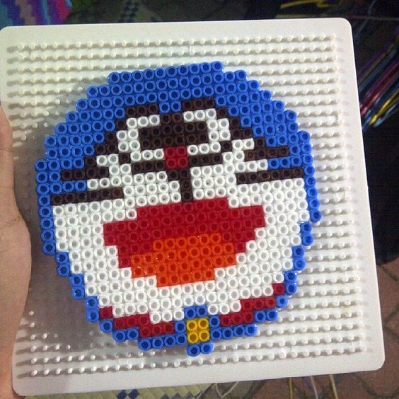 Doraemon perler beads by dayahanhar