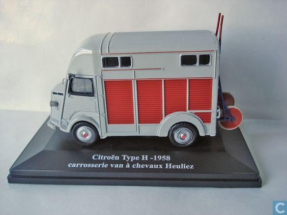 Citroen miniature model cars