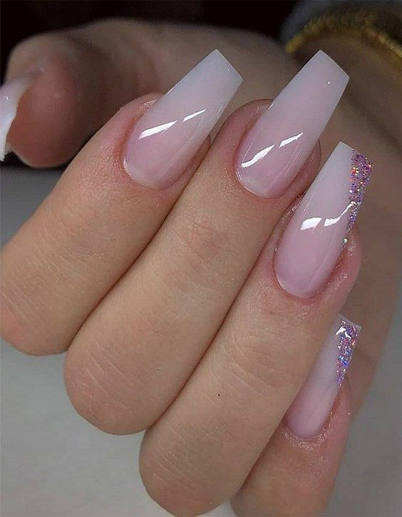 Modern Ideal Glitter Nail Art Trends To Wear Now In 2020 Acrylic Nail Designs Trendy Nails Coffin Nails Designs