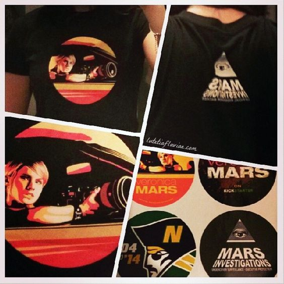 My Veronica Mars T-shirt on lutetiaflaviae.com