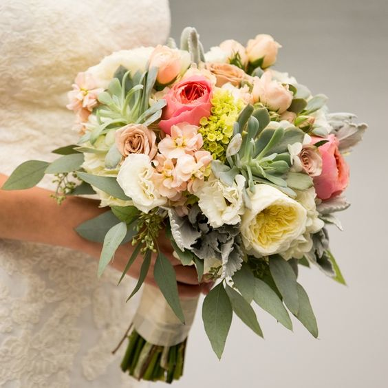 Lovely Bridal Bouquet // Arlene Chambers Photography // Flora D' Amore by Stadium Flowers // http://www.theknot.com/weddings/album/a-playful-outdoor-wedding-in-snohomish-wa-140137