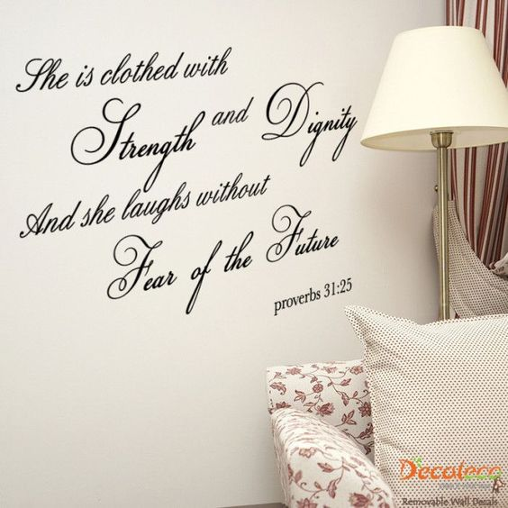 Proverbs 31, Quotes About Strength And Strength On Pinterest