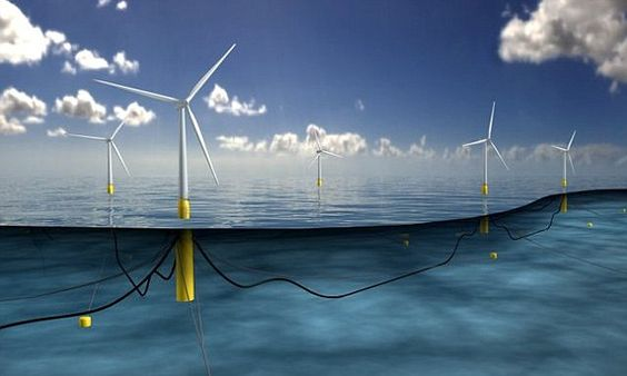 World's largest FLOATING windfarm is coming to Scotland: Turbines will be placed in deep water to harness strongest winds   Read more: http://www.dailymail.co.uk/sciencetech/article-3593129/World-s-largest-FLOATING-windfarm-coming-Scotland-Turbines-placed-deep-water-harness-strongest-winds.html#ixzz48zQ5l5Vb  Follow us: @MailOnline on Twitter | DailyMail on Facebook