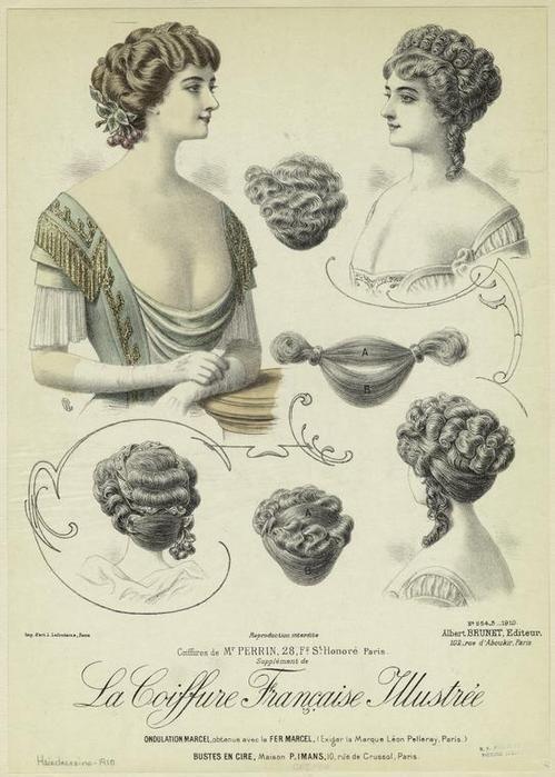 Coiffure Femme Xixème Siècle