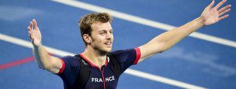 joie de Christophe Lemaitre (fra) - finale 200m hommes