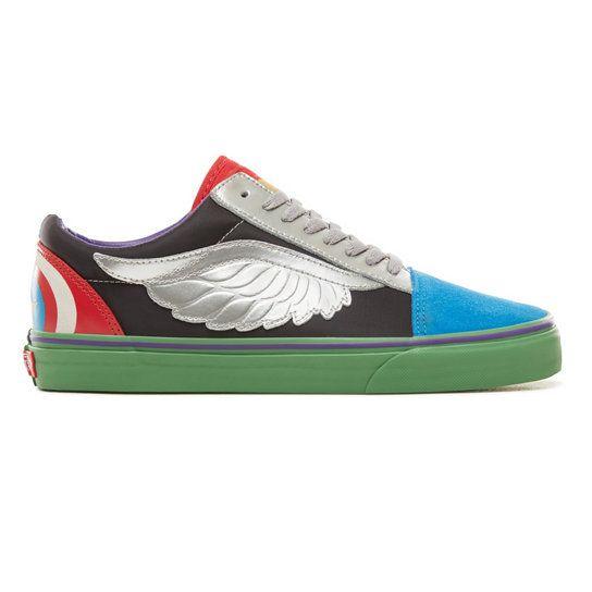 Chaussures Vans X Marvel Old Skool | Vans | Chaussures vans, Vans ...